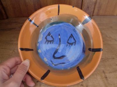 テラコッタのお皿