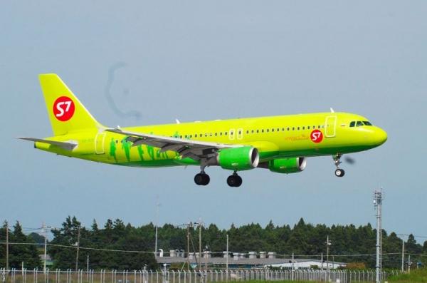 20140923 S7航空S7航空(ロシア連邦)