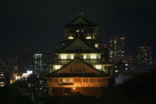 大阪城ライトアップ 006