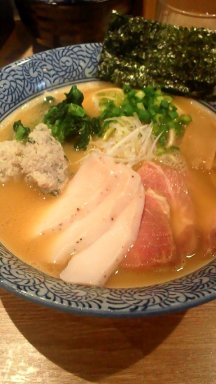 麺屋 一橙~チャーシュー濃厚魚介ラーメン