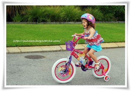 Ash on Bike