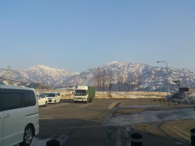 新潟は雪国でした