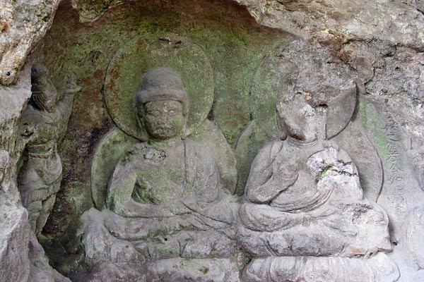 石仏 滝坂道7