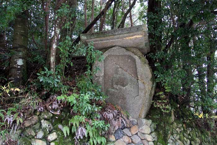 浄瑠璃寺付近 石仏3