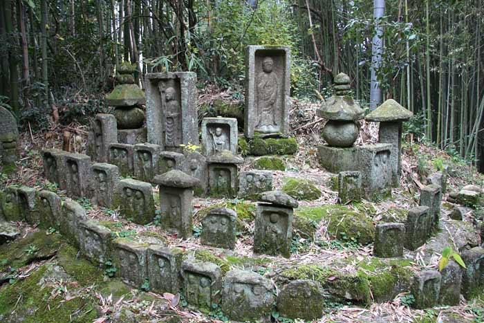 浄瑠璃寺付近 石仏5