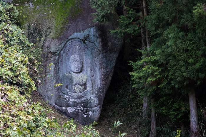 浄瑠璃寺付近 石仏6