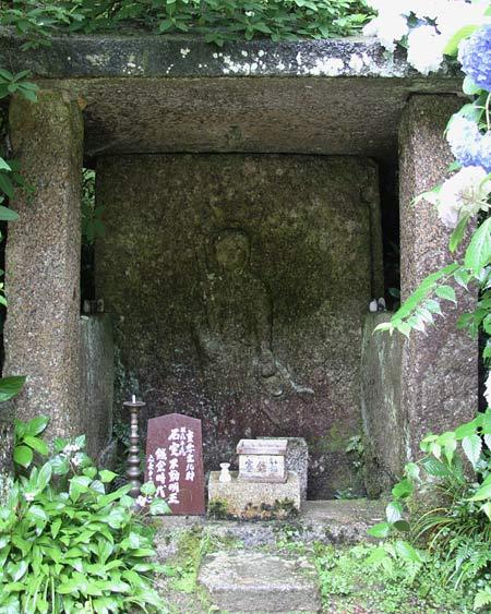 岩船寺 石仏8