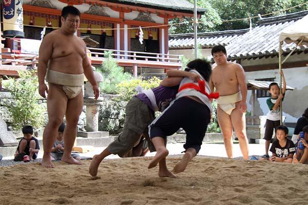 休ヶ岡 子ども相撲3