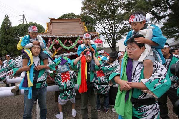 和爾下神社 秋祭り3