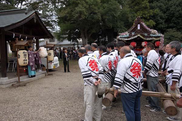 和爾下神社 秋祭り4
