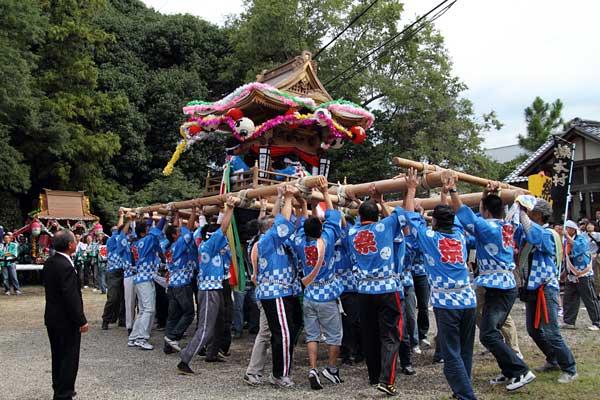 和爾下神社 秋祭り5