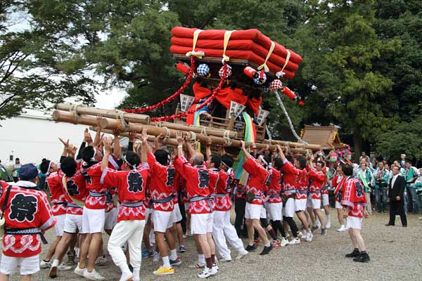 和爾下神社 秋祭り6