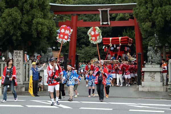 和爾下神社 秋祭り8