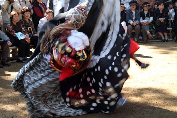 曽爾の獅子舞1