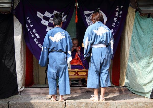 龍穴神社 お渡り3