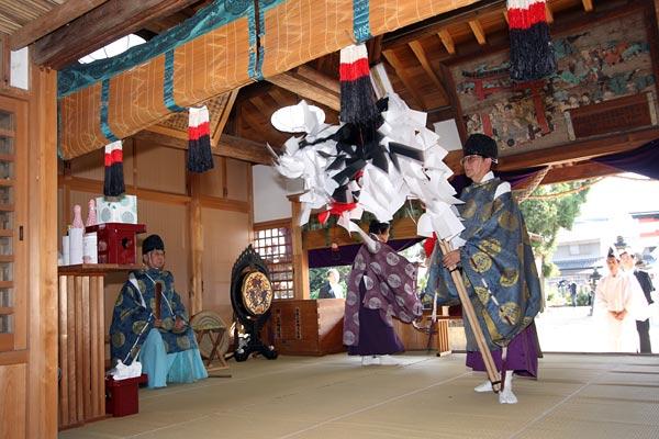 糸井神社 当屋行事3