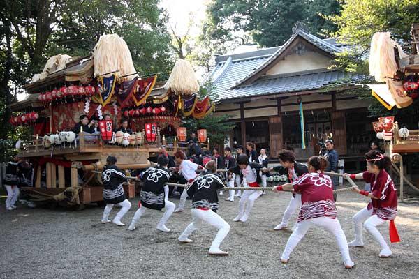箸尾 戸立祭 本宮4