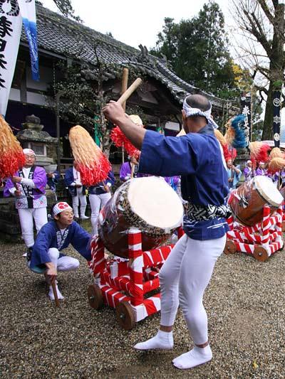吐山の太鼓踊り5