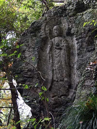 石仏 滝坂道9