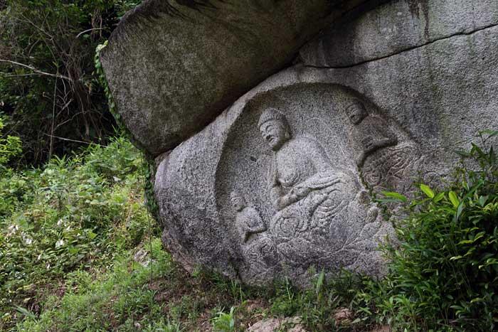 岩船寺 石仏2