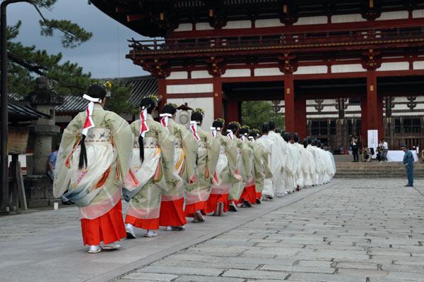 東大寺 合同の祈り2