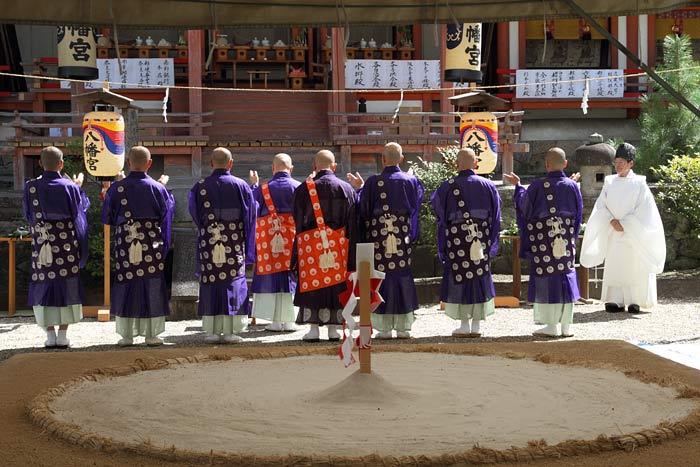 休ヶ岡八幡宮 相撲1
