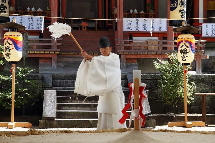 休ヶ岡八幡宮 相撲4