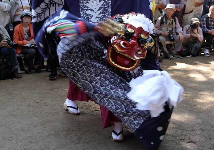 曽爾の獅子舞2