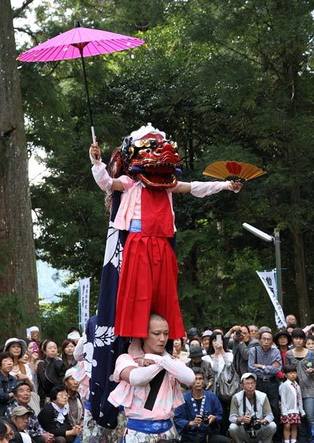 曽爾の獅子舞4