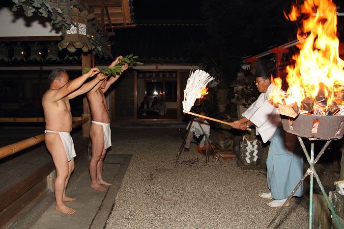 奈良豆比古神社 相撲1