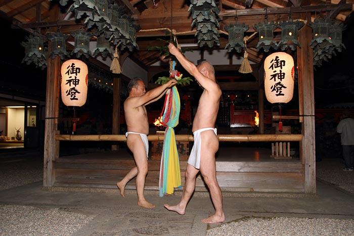 奈良豆比古神社 相撲2