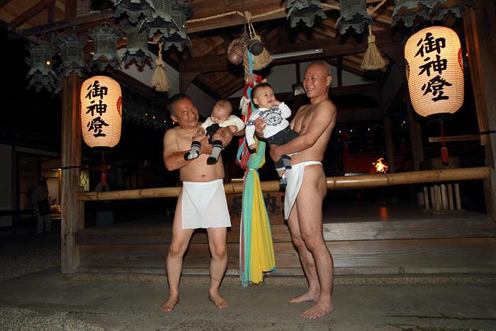 奈良豆比古神社 相撲3