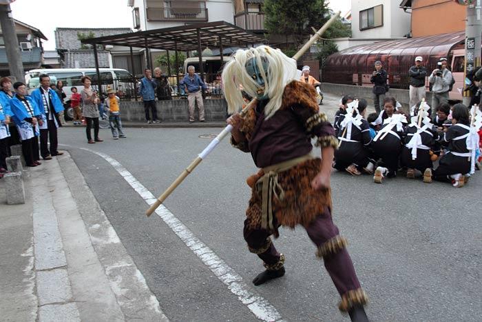 飽波神社 なもで踊り2