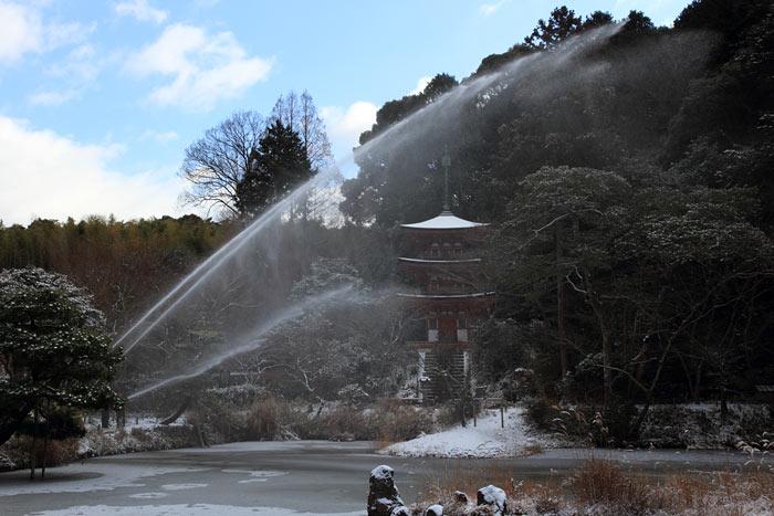 雪の浄瑠璃寺2