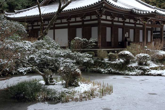 雪の岩船寺2