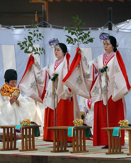 水谷神社 鎮花祭2