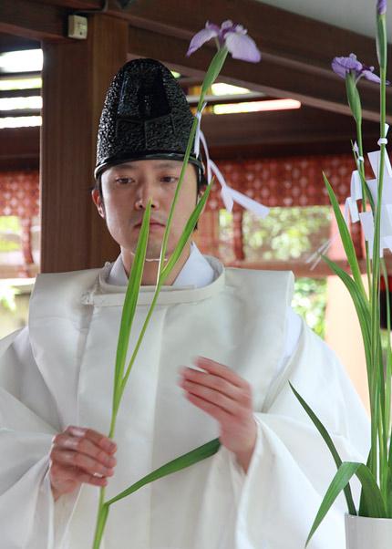 漢国神社 菖蒲祭2