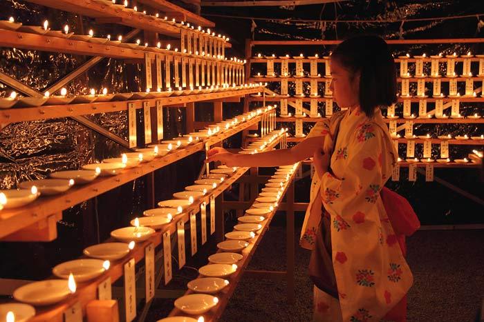 龍田神社 千燈明