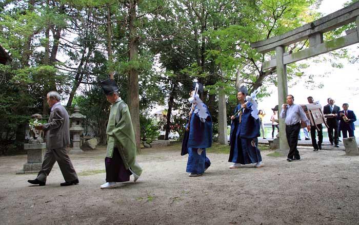 恩智神社 シンカン祭り1