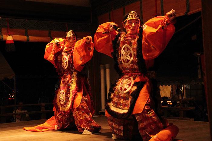 氷室神社 夕座舞楽5