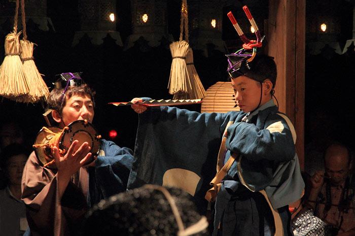 奈良豆比古神社 翁舞1