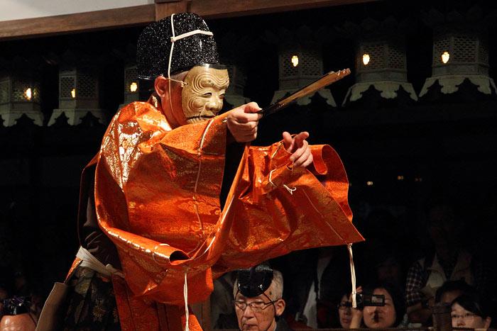 奈良豆比古神社 翁舞2