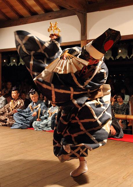 奈良豆比古神社 翁舞4