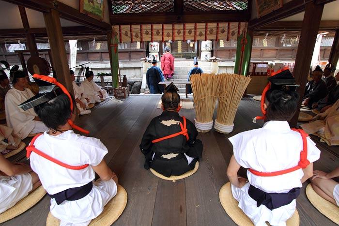 往馬大社 火祭り 本祭1