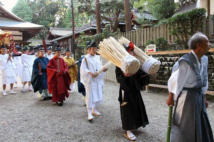 往馬大社 火祭り 本祭2