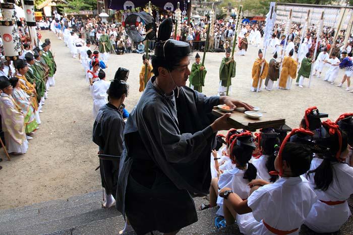 往馬大社 火祭り 本祭7