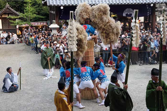 往馬大社 火祭り 本祭4