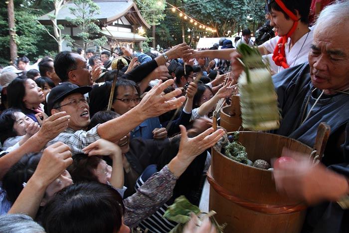往馬大社 火祭り 本祭9
