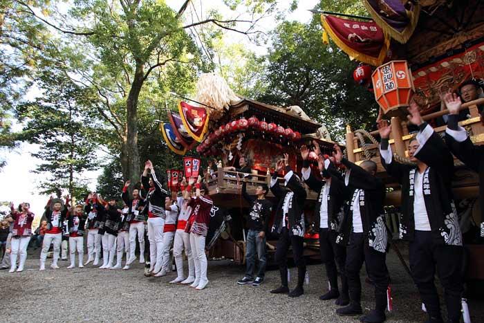 箸尾 戸立祭 本宮2