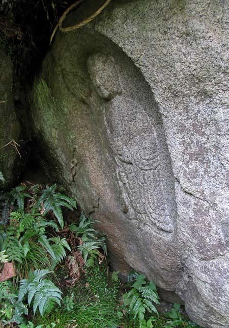 岩船寺 石仏7